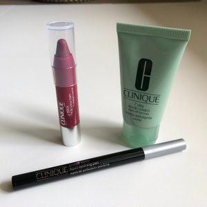 Clinique Lot of 3 Products for Lip/Eye/Face Sz OS